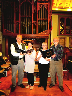Four new singers in St. Cecilia Chamber Choir